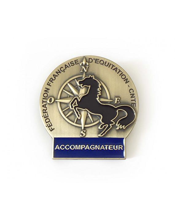 Insigne Accompagnateur de Tourisme Equestre
