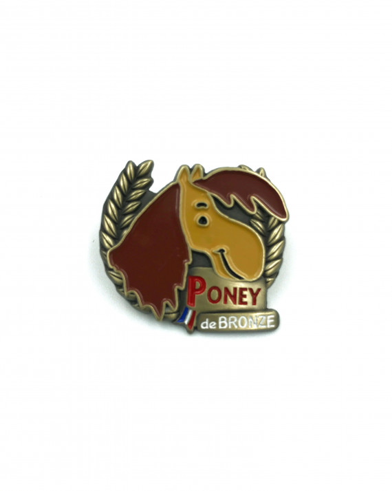 Insigne Galop® poney Bronze