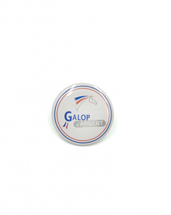Insigne Galop® Argent (rond)