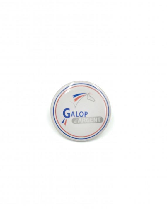 Insigne Galop® Argent (rond)