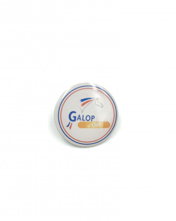 Insigne Galop® Or (rond)