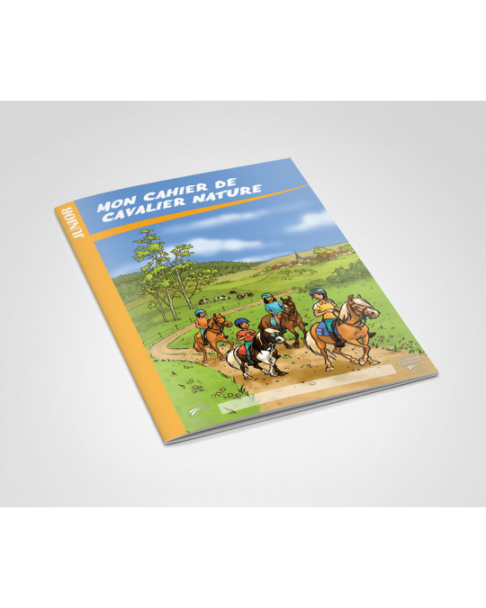 Cahier de Cavalier Nature Junior