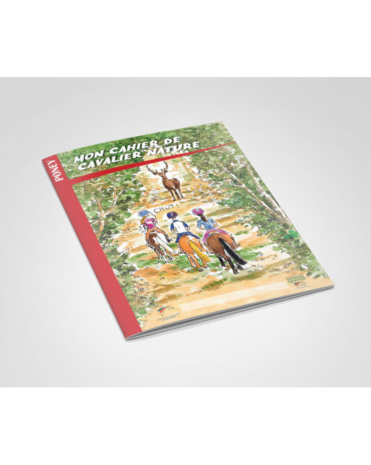Cahier Cavalier Poney (Lot de 10)