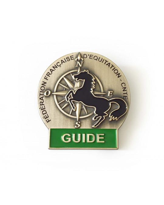 Insigne Guide de Tourisme Equestre