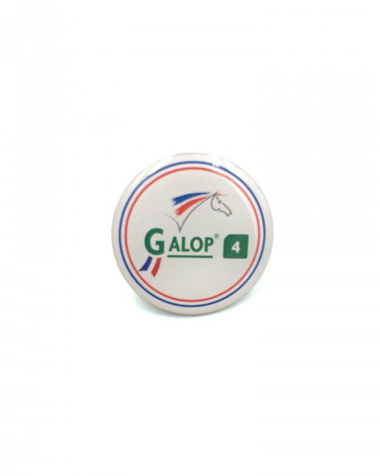 Insigne Galop® 4 (rond)