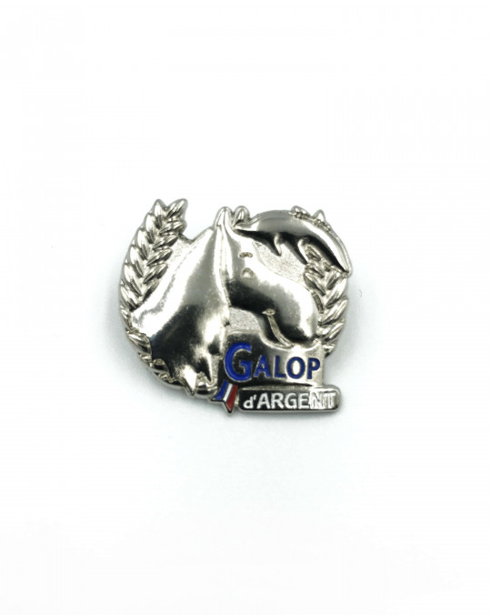Insigne Galop® Argent
