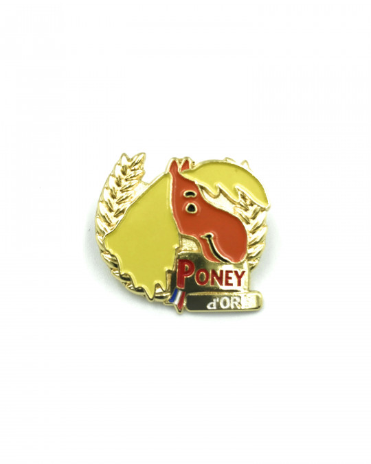 Insigne Galop® poney Or
